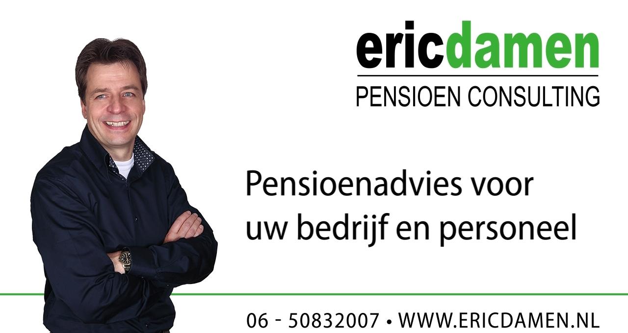 Eric Damen Pensioen Consulting - Advisering over pensioenregelingen
